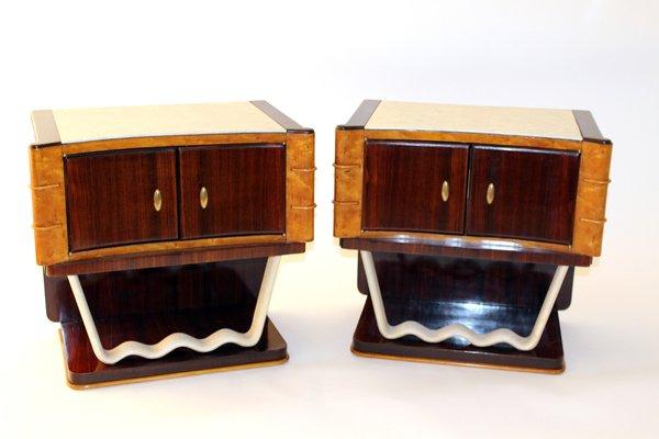 Arredamento Svedese Vintage : Comodini vintage di osvaldo borsani per mobili trieste set di