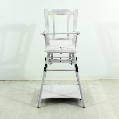 Antique Children's High Chair 2 - Antique Children's High Chair For Sale At Pamono