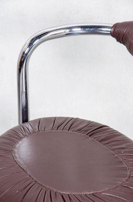 Dunkelroter Cobra Stuhl Von Giotto Stoppino 1970er Bei Pamono Kaufen