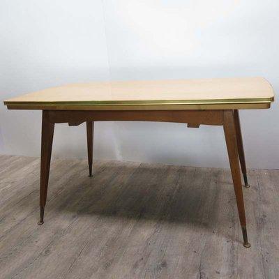 Tavolo vintage allungabile, anni \'50 in vendita su Pamono