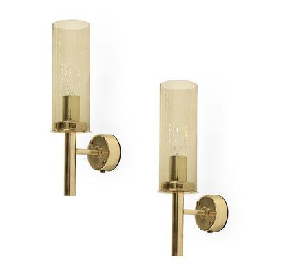 Model 16914 brass wall lights by hans agne jakobsson for ab model 16914 brass wall lights by hans agne jakobsson for ab markaryd aloadofball Images