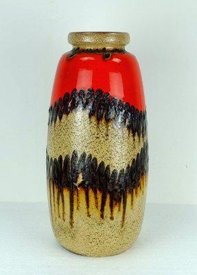 Vintage Floor Vase From Scheurich 1960s 1