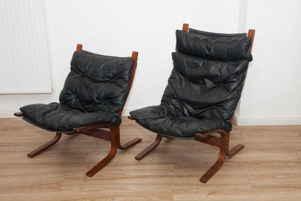 Vintage Siesta Stuhl: Ingmar Relling (für Westnofa) 1968 in