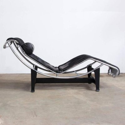 LC 4 Chaise Longue By Le Corbusier For Cassina 1960s 2