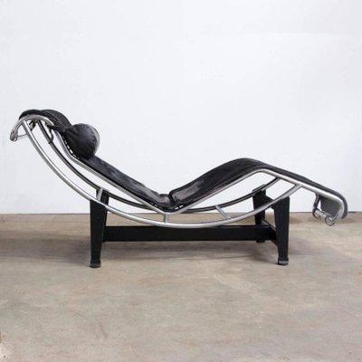 LC 4 Chaise Longue Von Le Corbusier Fur Cassina 1960er 2