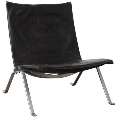 Bon Vintage PK22 Lounge Chair By Poul Kjaerholm For E. Kold Christensen 1