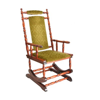 Scandinavian Wooden Rocking Chair 1950s For Sale At Pamono
