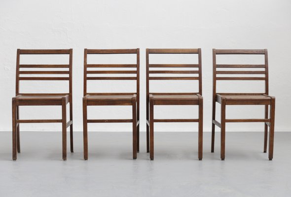 Mid-Century Dining Chairs by René Gabriel Set of 4 1  sc 1 st  Pamono & Mid-Century Dining Chairs by René Gabriel Set of 4 for sale at Pamono