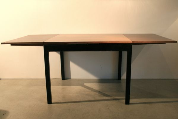 Mid Century Square Extendable Table By Willy Guhl 5