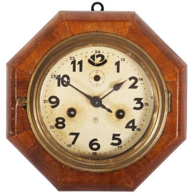 Art Deco Wall Clock from Junghans for sale at Pamono