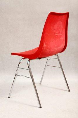Kaufen Pamono Von Casala1970er Bei Stuhl Roter Tdbqxschr