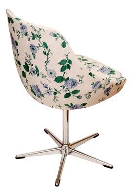Chaise Pivotante Vintage Blanche 2