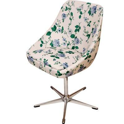 Chaise Pivotante Vintage Blanche 3