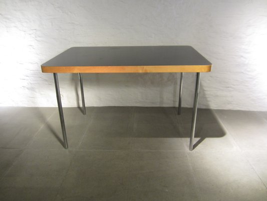 Small Vintage Dining Table By Marcel Breuer For Embru Wohnbedarf 1940s 1