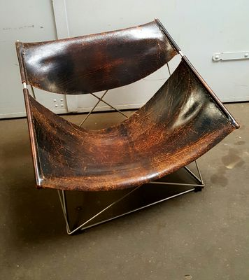 f675 butterfly chair by pierre paulin for artifort 1960s for sale