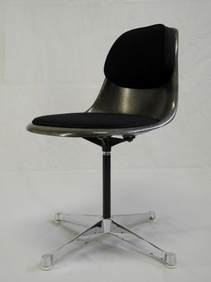 Vintage PSC-3 Office Chair by Charles u0026 Ray Eames for Herman Miller 2 & Vintage PSC-3 Office Chair by Charles u0026 Ray Eames for Herman Miller ...