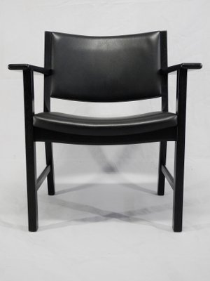 Danish JH 50 Chairs By Hans J. Wegner For Johannes Hansen Møbelsnedkeri,  1980s,