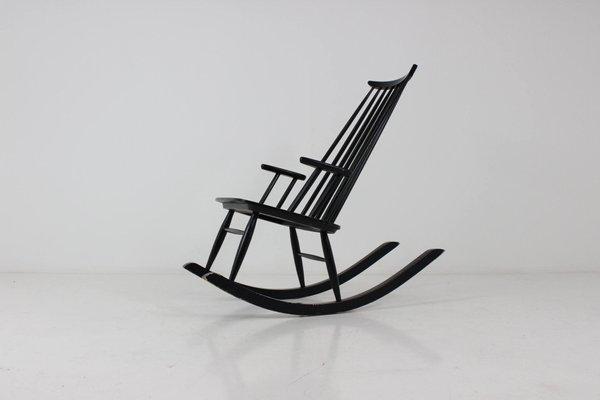 UusikyläFinlande Mid Puunjalostus Century Chaise Par Vintage Varjosen À Bascule Pour m8wOvn0PyN
