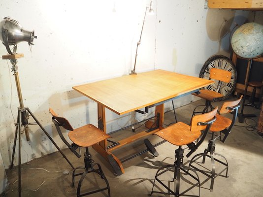 Scrivania Da Disegno : Tavolo da disegno oza di la cellophane ozalide anni in
