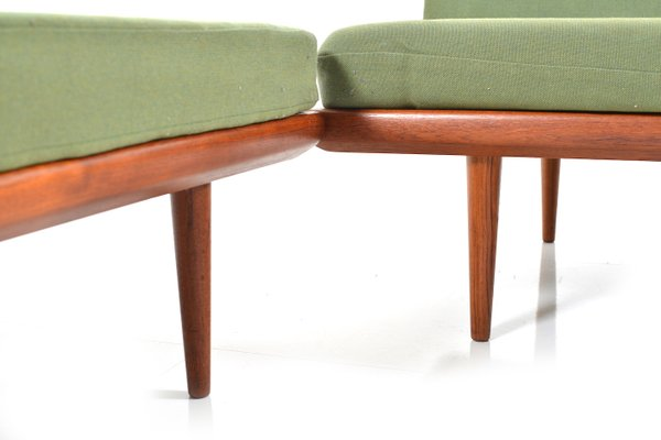 Astounding Minerva Sofa Set By Peter Hvidt Orla Molgaard Nielsen For France Son 1960S Onthecornerstone Fun Painted Chair Ideas Images Onthecornerstoneorg