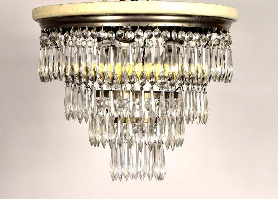 Jugendstil Deckenlampe jugendstil deckenlampe mit kristallprismen bei pamono kaufen