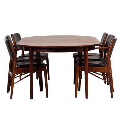 Danish Rosewood Dining Set By Arne Vodder For Sibast, 1960s 1