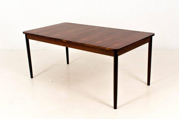 Mid Century Modern Dutch Rosewood Extendable Dining Table By Fristho 1960s For Sale At Pamono