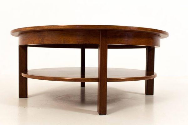 Remarkable Large Mid Century Modern Coffee Table 1970S Gmtry Best Dining Table And Chair Ideas Images Gmtryco