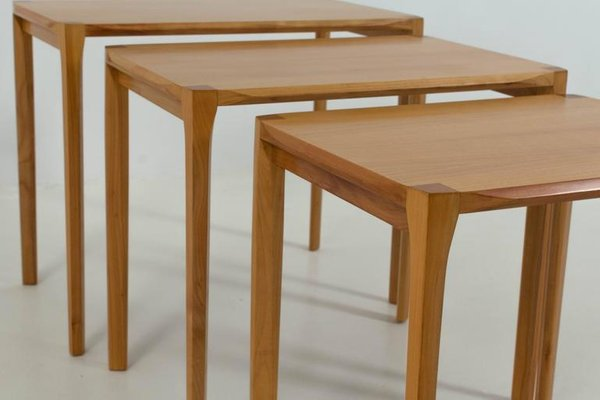 Mid Century Modern Nesting Tables By Rex Raab For Wilhelm Renz 2