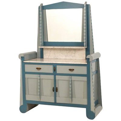 Amsterdam School Dressing Table With Mirror 1
