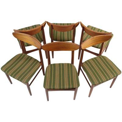 MidCentury Solid Teak Chairs From AS Skovby Møbelfabrik Set Of - Solid teak outdoor table