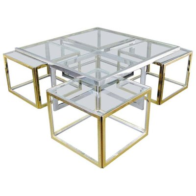 Glass Coffee Table Vintage 6