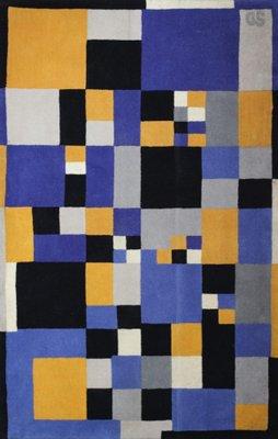 1b4406a831 Tappeto di Sonia Delaunay per Artcurial, anni '80 in vendita su Pamono