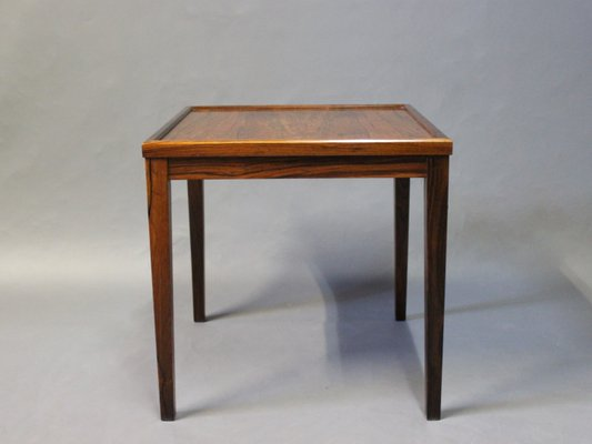Small Danish Side Table In Rosewood 1960s