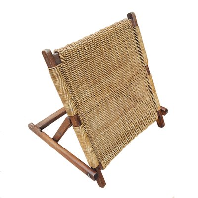Beach Folding Chair Back Rest 1900s 1