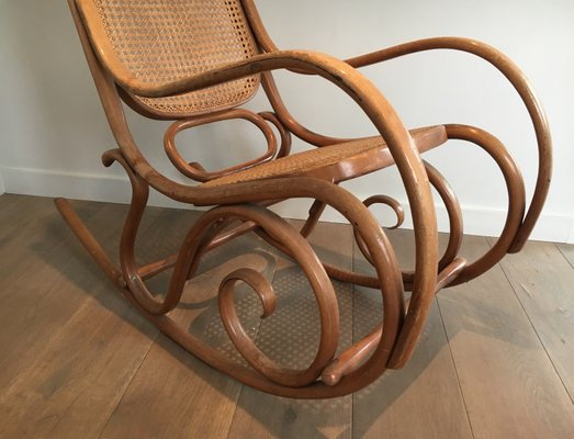 Vintage Bentwood Rocking Chair, 1970s 3 - Vintage Bentwood Rocking Chair, 1970s For Sale At Pamono