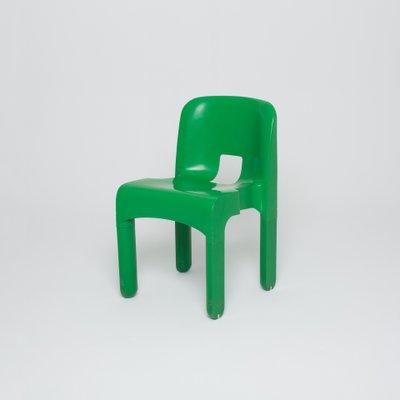 chaises verte par joe colombo pour kartell 1 - Chaise Verte