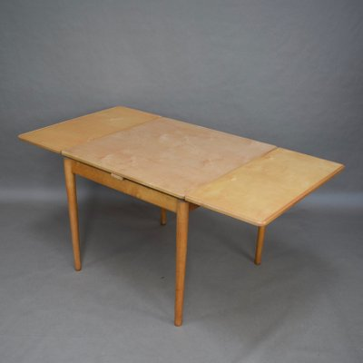 Birch Extendable Dining Table By Cees Braakman For Pastoe 1950s 13