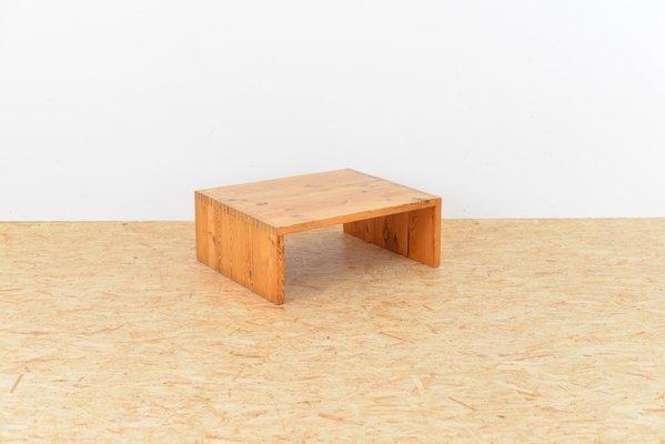 Vintage Clubtisch Aus Solidem Holz Bei Pamono Kaufen