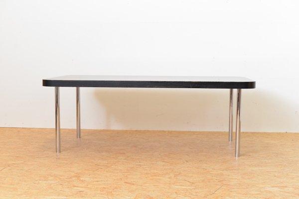 Schwarzer Vintage Tisch Von Marcel Breuer Für Embru Wohnbedarf Bei
