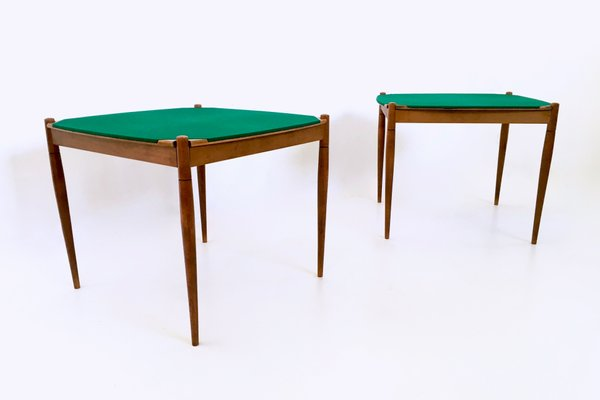 Italian Game Tables By Gio Ponti For Fratelli Reguitti, 1958, Set Of 2 1