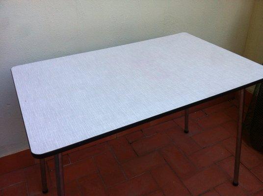 Mesa De 60 Belga Cocina Plegable FormicaAños mvNn08w