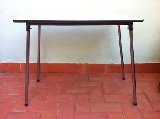 Belgian Formica Folding Kitchen Table 1960s For Sale At Pamono