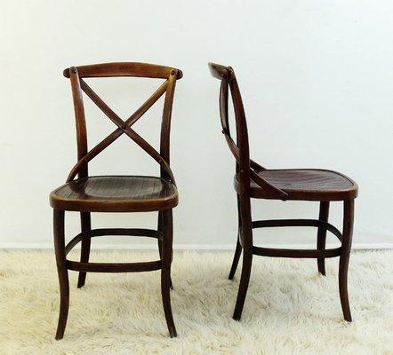 Antike Stuhle Von Jacob Josef Kohn Fur Thonet 2er Set Bei Pamono