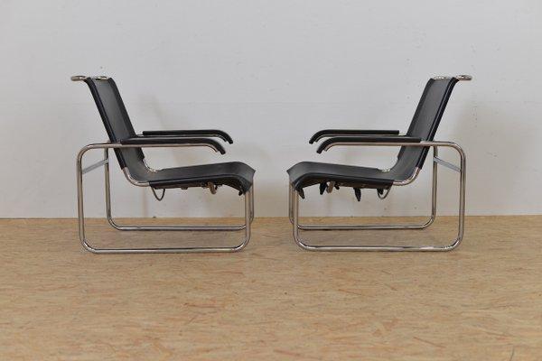 Vintage Sitzmaschine B35 Stuhl Von Marcel Breuer Für Thonet 9