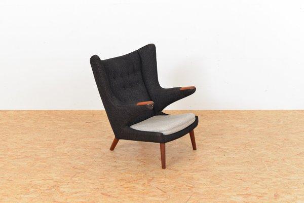 Etonnant Vintage Papa Bear Chair By Hans J. Wegner For AP Stoelen 3