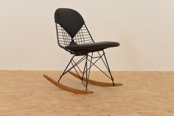 Wire Rocking Chair By Ray And Charles Eames For Vitra For Sale At Pamono