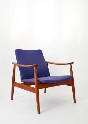 Mid-Century Model 138 Easy Chair by Finn Juhl for France u0026 Søn 1 & Mid-Century Model 138 Easy Chair by Finn Juhl for France u0026 Søn for ...