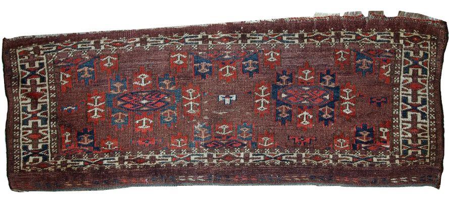 Handgeknupfter Antiker Turkischer Yomud Teppich 1880er Bei Pamono