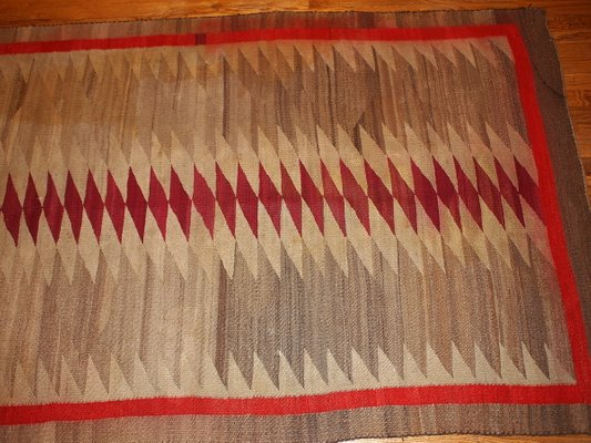 Antique Handmade Native American Navajo Rug For Sale At Pamono